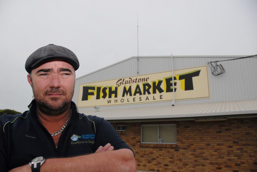 Gladstone Fish Market owner Simon Whittingham.