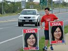 Labor candidate defends roadside campaigning