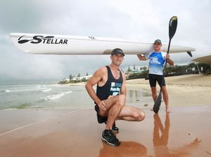 Runners to tackle paddlers in race