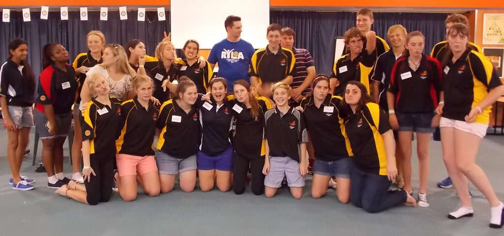 Youth who attended the Rotary leadership and motivational weekend had an inspirational weekend.