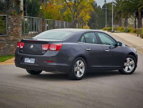 The Holden Malibu CD.