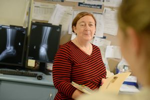 Nicki Murdock is the Galdstone Hospital's new Director of Medical Services. Photo Brenda Strong / The Observer