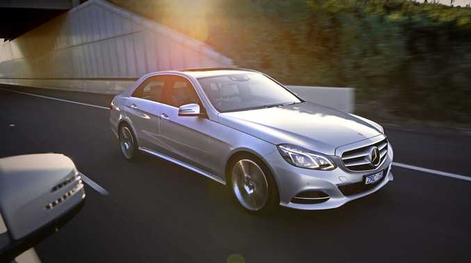 The new Mercedes-Benz E-Class.