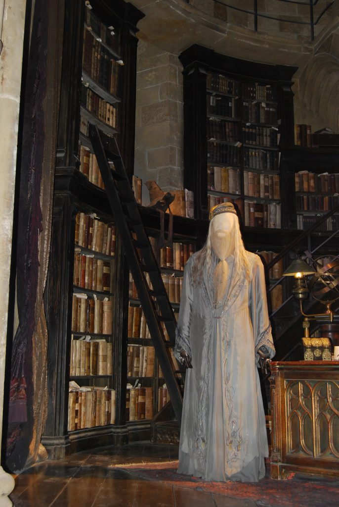 Dumbeldore's Office complete with Sorting Hat.