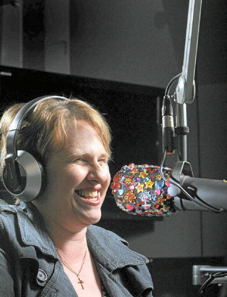 Ruby Slipperz broadcasts for River 94.9