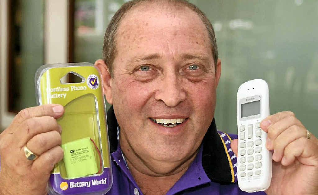 Battery World owner Gabe Giannangelo said their research showed many people tossed out cordless phones when all they needed was a new battery.