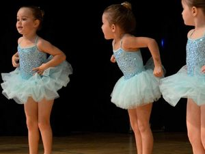 Tiny dancers sure to melt hearts