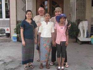 Bay mum brings precious gift of education to Myanmar