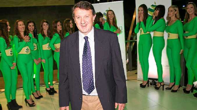GREEN GOLD: Ravensbourne businessman Daryl Boardman enjoys the launch of his Avolution avocado marketing company.