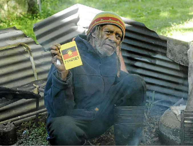 SHARED VISION: Uncle Robert Corowa will set up a tent embassy at Nimbin in July in solidarity with the West Papua Freedom Flotilla.