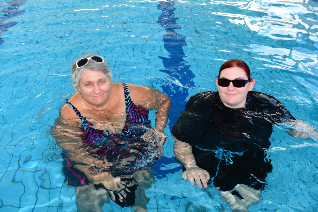 Tracey and Tegan Wilson are swimming their way to weight loss, with the help of weight watchers.