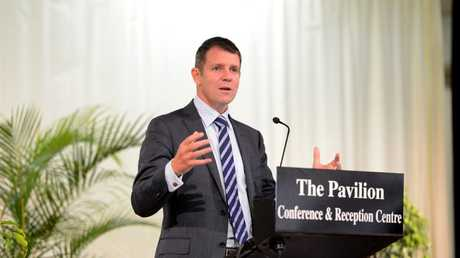 Premier Mike Baird says simply