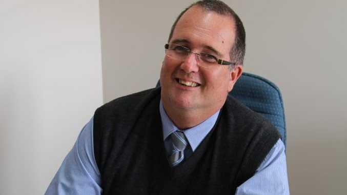 Mayor Peter Blundell.