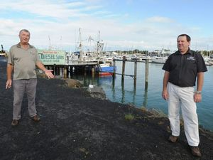 St Peter's on his way to watch over Fraser Coast fishers