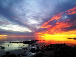 Photo of sunset at Gatakers Bay kicks off Facebook contest