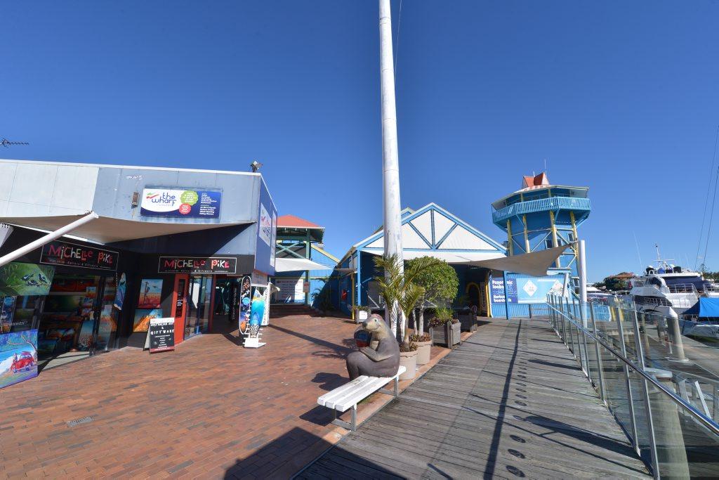 The Wharf Complex, Mooloolaba. Photo: John McCutcheon / Sunshine Coast Daily