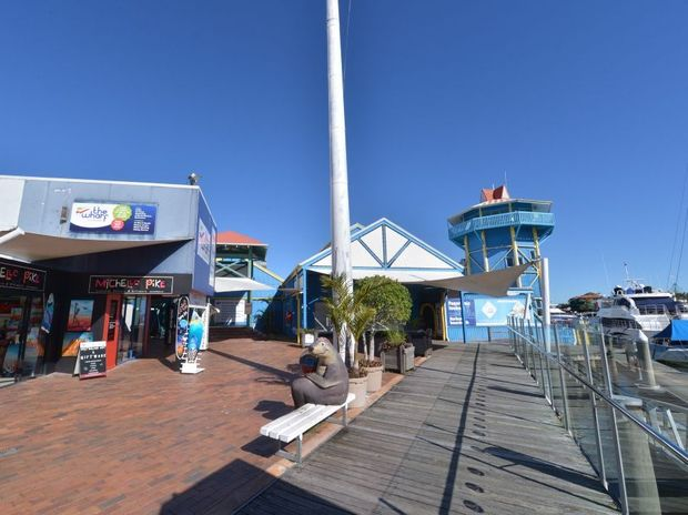 The Wharf Complex, Mooloolaba. Photo: John McCutcheon / Sunshine Coast Daily