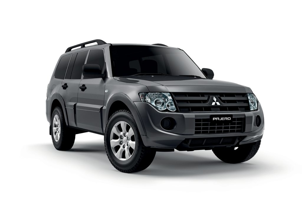 The MY14 Mitsubishi Pajero.