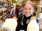 Farmer's milk is making a splash