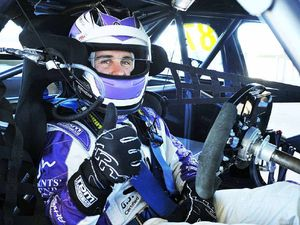 V8 driver Ash Walsh remains humble in the fast lane