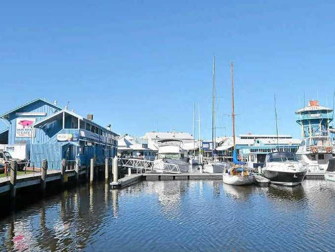 The Mooloolaba Wharf