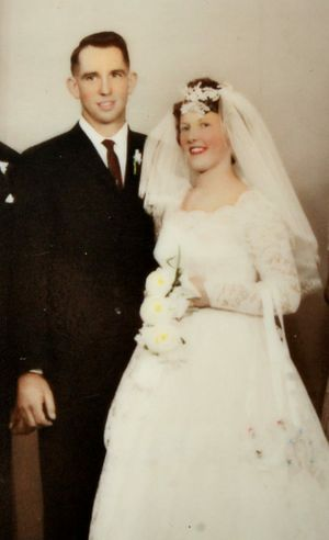 Glynn and Hazel McKey celebrate their 50th wedding anniversary on Saturday (15th June). Photo: Contributed Photo: Contributed