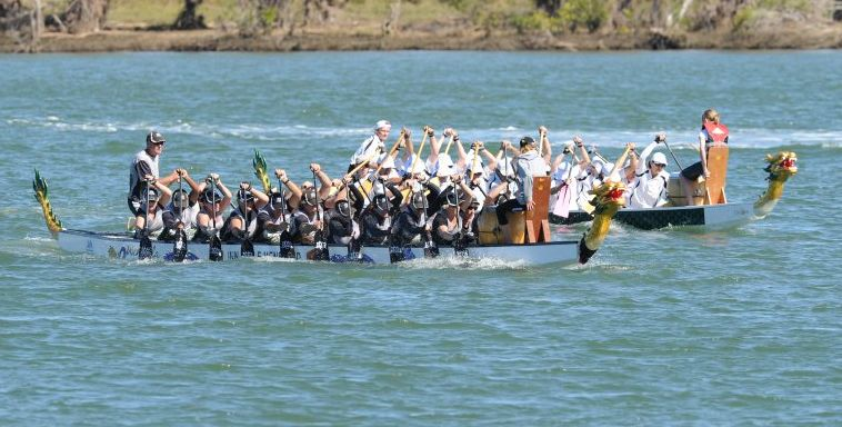 Try out Dragon Boat Racing