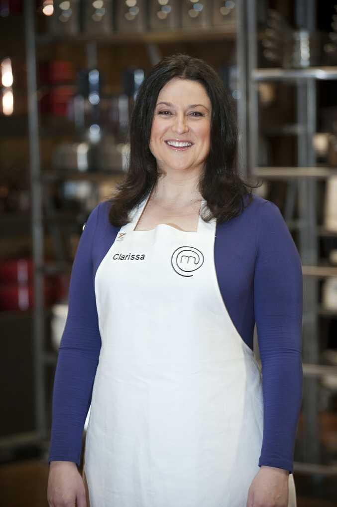 Clarissa Dowadec sang her final notes in the Masterchef kitchen tonight.