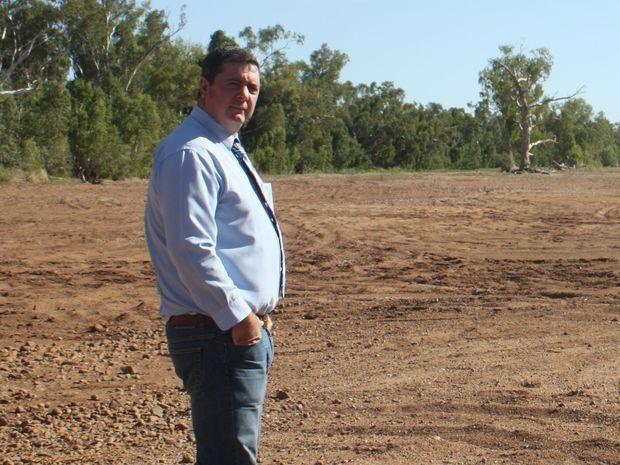Cloncurry Mayor, Andrew Daniels.