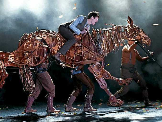 The National Theatre of Great Britain's production of War Horse.