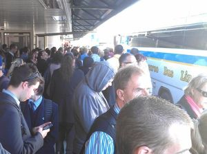 How to beat delays: Class prays and claims train 'miracle'