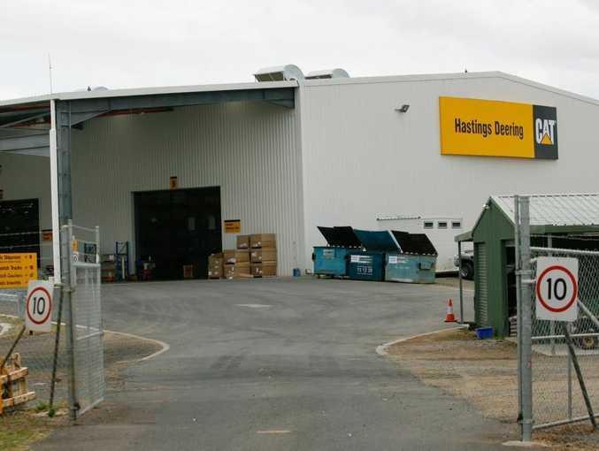 Hastings Deering workshops at Port Curtis, Rockhampton.