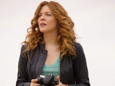 Rachelle Lefevre pictured in a scene from the TV series Under the Dome.