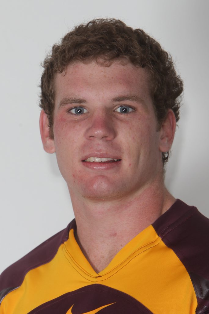 STATE OF ORIGIN: Chris Ostwald will play for the Queensland under 18 team. Photo Contributed
