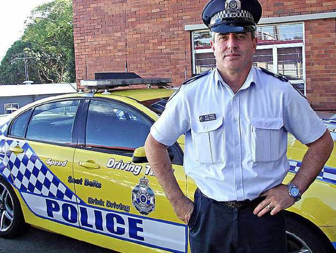 Sunshine Coast Traffic Branch officer in charge Shane Panoho.