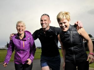First-time marathon runners running for River and SIDS
