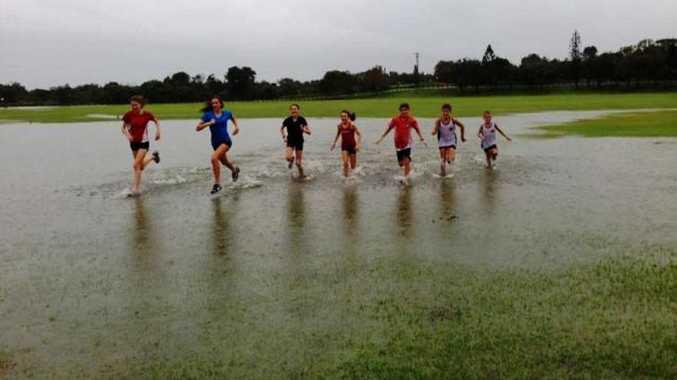 Rain, hail or shine the Border Striders love to run