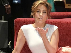 'Overwhelmed' Jennifer Lopez gets Walk of Fame star