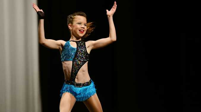The Ipswich Junior Eisteddfod Society: Jazz Up-tempo 9 years category with competitor Ella Bailey.