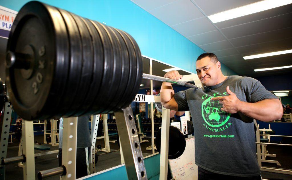Power lifter Odell Manuel