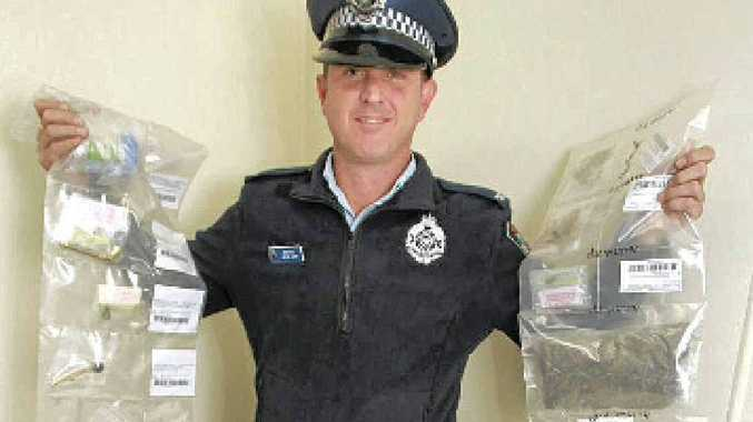 IN THE BAG: Coolum police constable Jason Jupp.