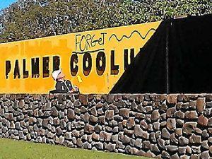 Palmer's furious at Coolum graffiti