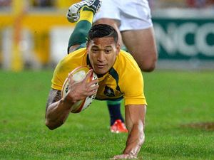 Lions get home on Wallabies' injuries and muffed kicks