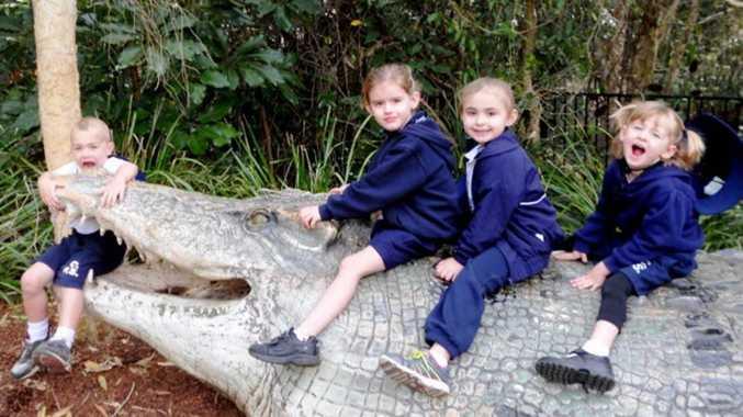 Students from Centaur Primary School Visit Currumbin Sanctuary