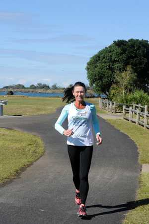 Marita Higgins of Ballina will run a marathon with her brother Greg who is battling cancer.