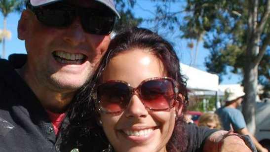 Erin Yarwood's Facebook photo with Matt Golinski.
