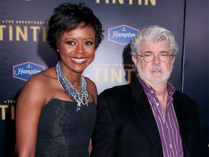 George Lucas marries girlfriend of seven years