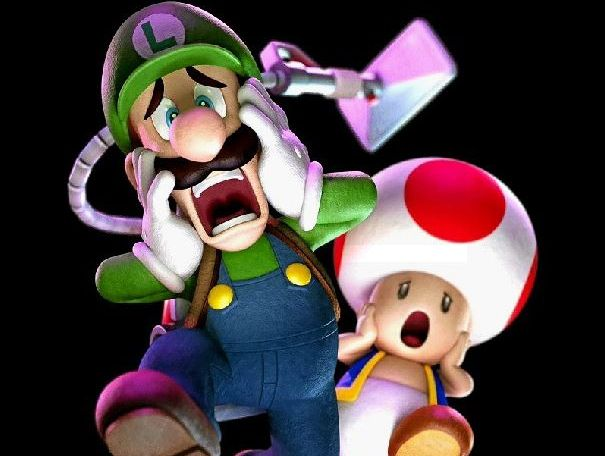 HELP ME: Nervous Luigi's battle with ghosts is a lot of fun.