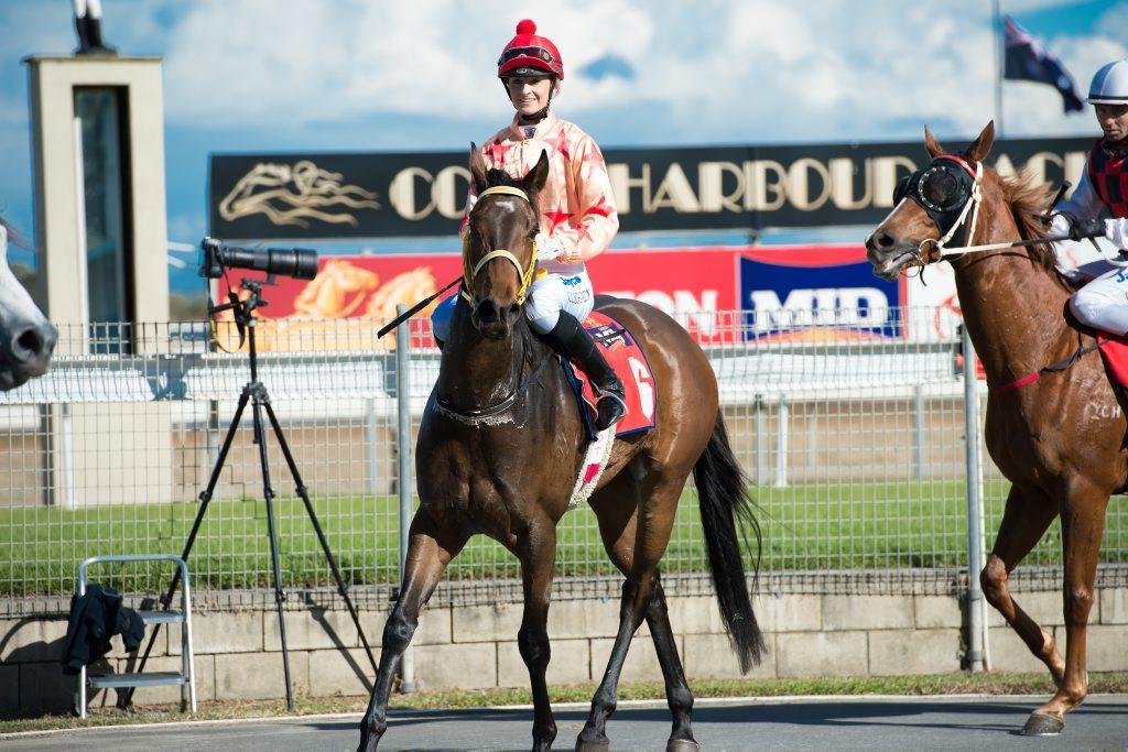 Jockey Cassandra Schmidt was named as NSW Racing's Country Apprentice of 2013.