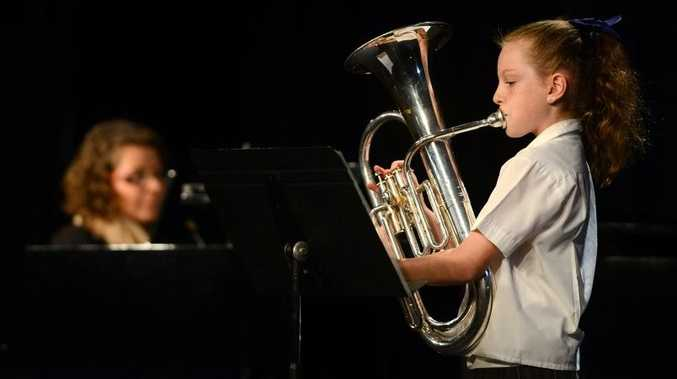 Murwillumbah festival of arts. Brass Solo 12 years and under. Therese Daley